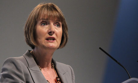 Harriet Harman. Labour's new shadow culture secretary