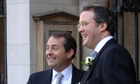 Liam Fox and Barry Neild