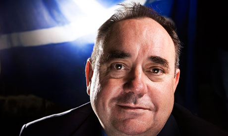 Alex Salmond gives interview