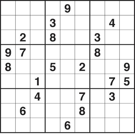 Sudoku 2,032 medium