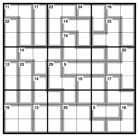 Observer killer Sudoku 20 November