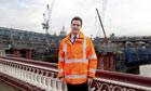 George Osborne visits Thameslink construction site