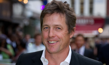 British actor Hugh Grant arrives at the