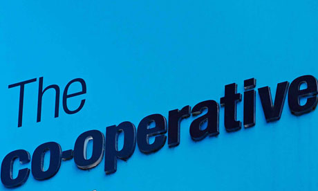 The Co-Operative Bank Sign, Oxford, UK.