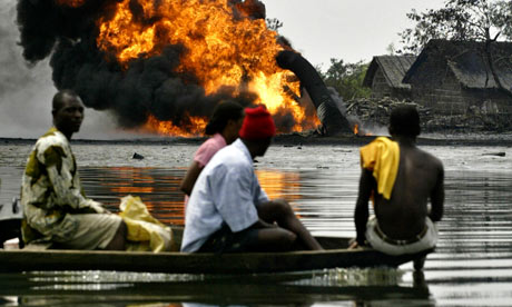 Shell's oil spills in Nigeria