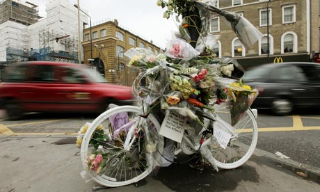 ghost bike memorial