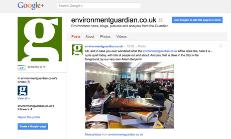 environmentguardian.co.uk on Google+