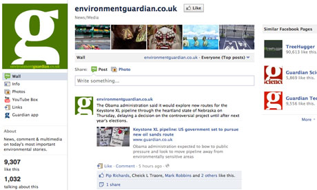 environmentguardian.co.uk on Facebook
