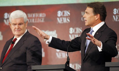 Rick Perry GOP debate South Carolina