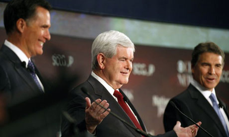 Newt Gingrich at GOP debate South Carolina