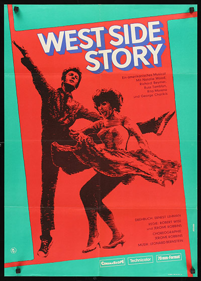 Film Poster Exhibition: West Side Story Poster