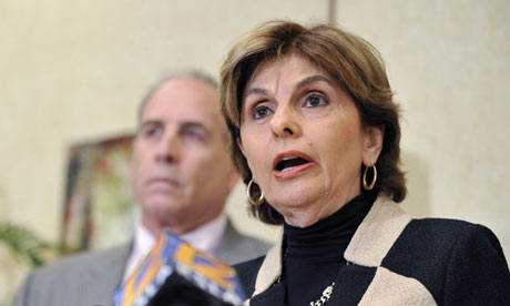 Gloria Allred and Victor Zuckerman