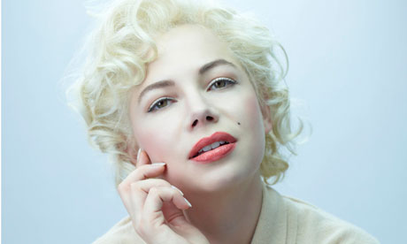 Michelle Williams as Marilyn Monroe in My Week With Marilyn.