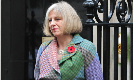 Theresa May fashion