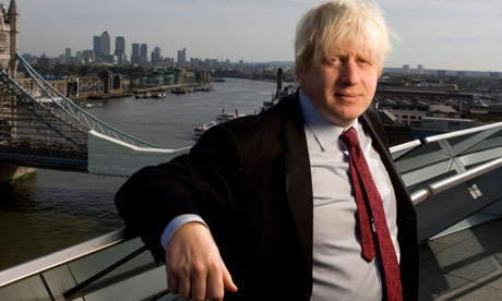Occupy London protesters have accused Boris Johnson of defending the rich