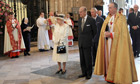 The Queen, the Duke of Edinburgh and Prince Charles