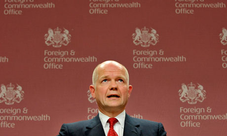 William Hague foreign office