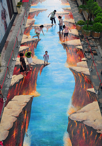 3D street art around the world - in pictures | Art and ...