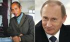 Lo Yuyanpin <em>(left)</em> and Vladimir Putin.