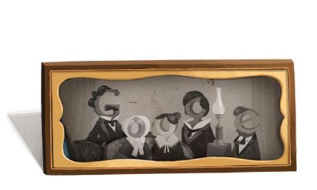 Google's Louis Daguerre doodle.