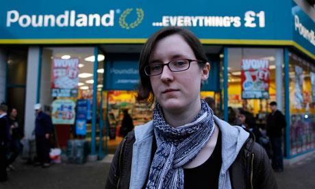 Cait Reilly at Poundland