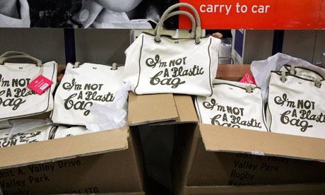 Anya Hindmarch's bags I'm Not a Plastic Bag bags
