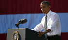 President Obama Speaks At Georgetown's Key Bridge Urging Congress To Pass American Jobs Act