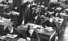 Harsh schooling… the 50s boomers.