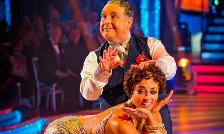 Russell Grant with Flavia Cacace in Strictly Come Dancing