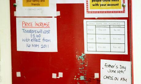 Ashfield noticeboard