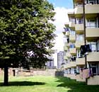 Council housing in Dagenham, east London.