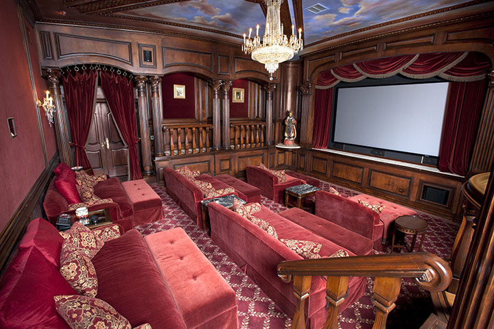 michael jackson auction: The singer's private theatre