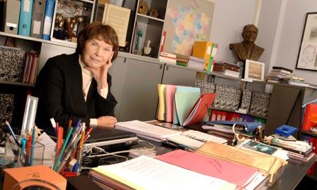 Danielle Mitterrand in 2005.