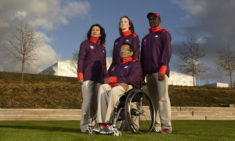 Official uniform for the 2012 Olympics.
