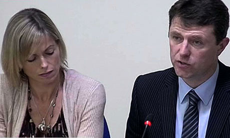 Gerry and Kate McCann testify at the Leveson inquiry at the Royal Courts of Justice