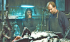 Mary Elizabeth Winstead and Ulrich Thomsen in The Thing