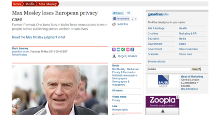 Max Mosley European court