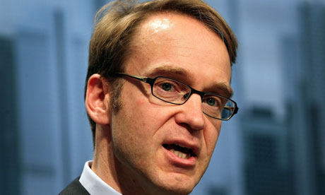 Jens Weidmann, President of the Deutsche Bundesbank.