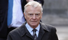 Max Mosley arrives to give evidence to the Leveson Inquiry at the Royal Courts of Justice, London