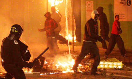 Tottenham riots after Mark Duggan shooting
