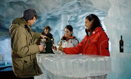 The Ice Bar, Zermatt