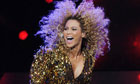 Beyonc&eacute; performs at Glastonbury Festival