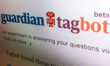 Guardian TagBot logo