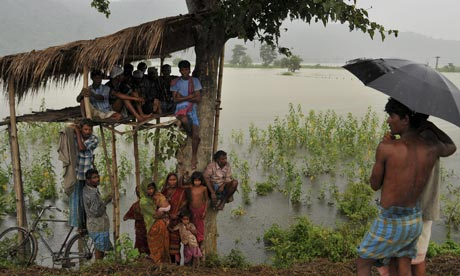 Floods in Assam, India