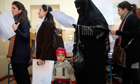 Egypt Goes To The Polls For Parliamentary Elections