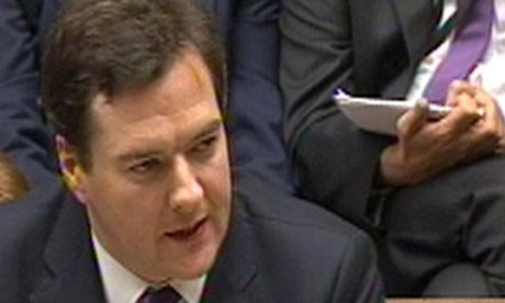 George Osborne revisits the days of the Iron Chancellor  minus the rabbit