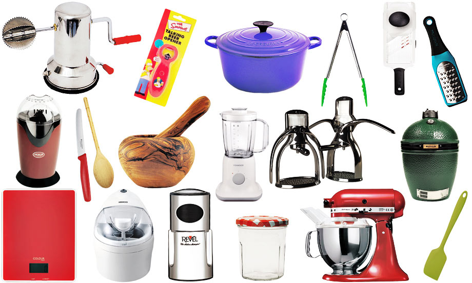 Kitchen tools and equipment and their uses with pictures for Kitchen equipment list