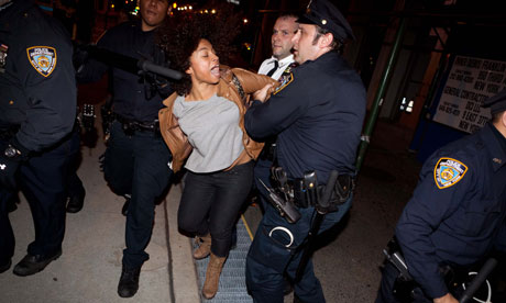 Occupy Wall Street protests, women