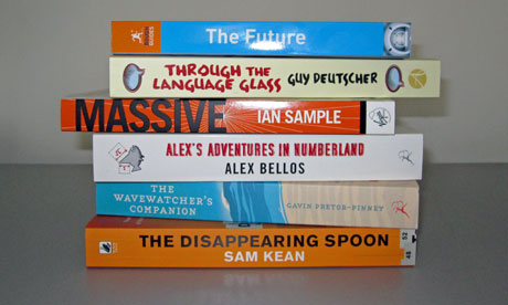 Shortlisted titles for the 2011 Royal Society Winton Prize for Science Books