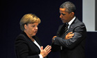 Angela Merkel and Barack Obama at the G20